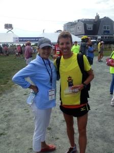 Kathy and I post-race